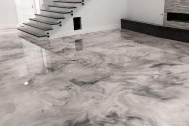 metallic-epoxy-floor